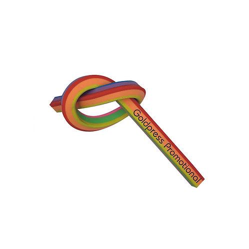 Rainbow Rope Eraser - Prices Inc VAT