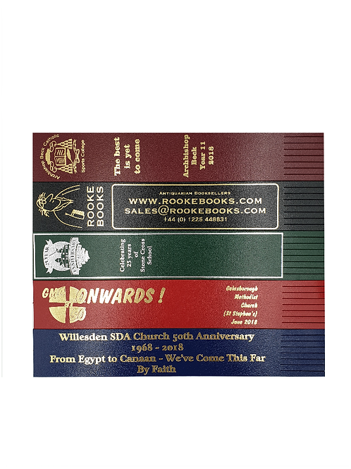 Personalised Leather Bookmarks - Prices Inc VAT