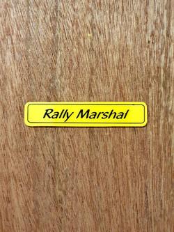 Rally Marshal Shape J