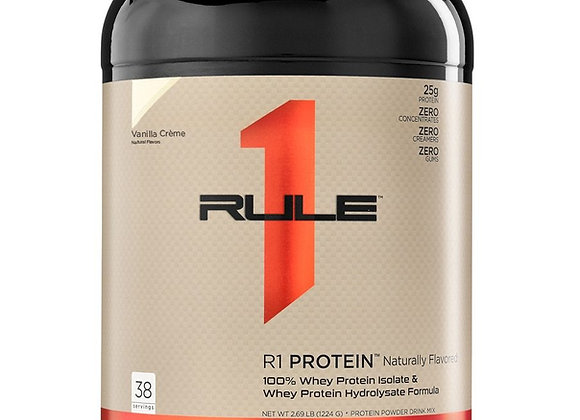 R1 Protein  Naturally Flavored Whey Isolate/Hydrolysate - 72 servings