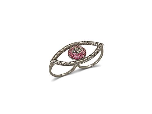 Tychon Evil Eye Ring 2