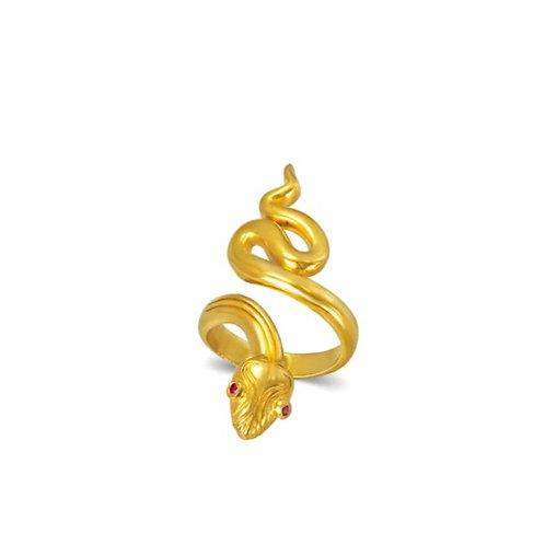 Stheno Snake Ring 3
