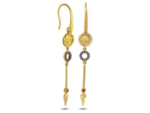 Athenas Spear Earrings