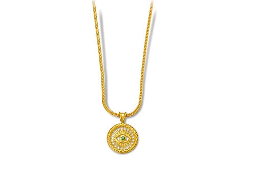 Vergina Sun Necklace