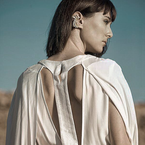 _Daphne Leaves Ear Cuff__This collection is named after _Daphne_ a #Nymph, and daughter of #Peneus (God of the River).jpg