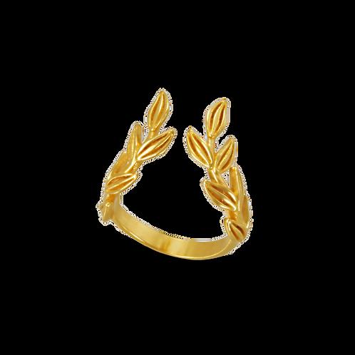 Daphne Leaves Ring 2