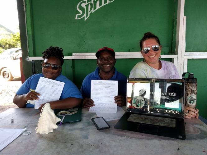 Staff Sea Turtle Education Workshop