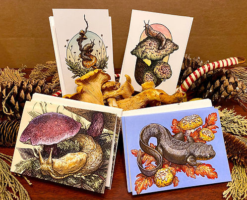 Greeting Cards: Fungal Friends 12-Pack
