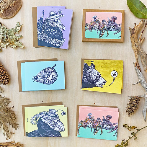 Party Animals: Greeting Card Set