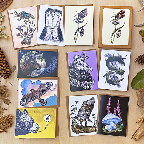 Cascades: Greeting Card Set
