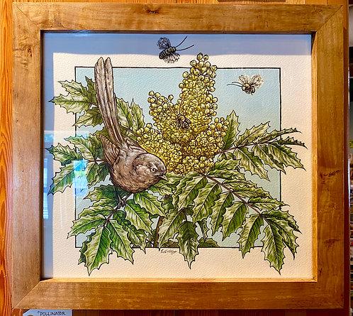Pollinator Parade: Original Painting