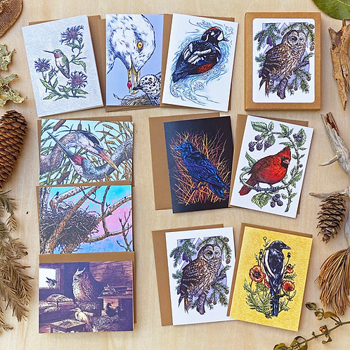 Aviary: Greeting Card Set
