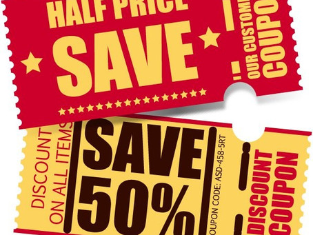 A COUPON DRIVEN BUSINESS HEADS OFF A CLIFF