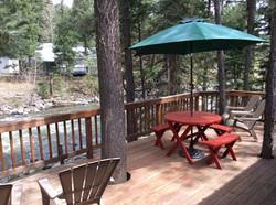 Rivers Edge vacation home Edge Deck