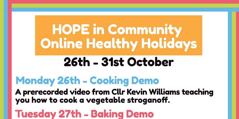H.O.P.E in Community Healthy Hoildays October (Virtual)