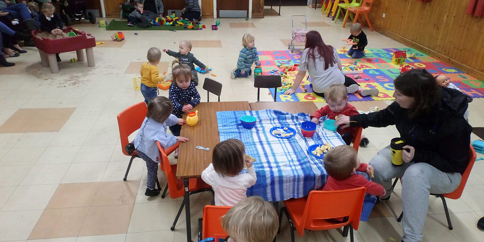 Week 1 - Toddlers  (Wednesday 28th July- Birth till 5  years old) Fun for all the Family