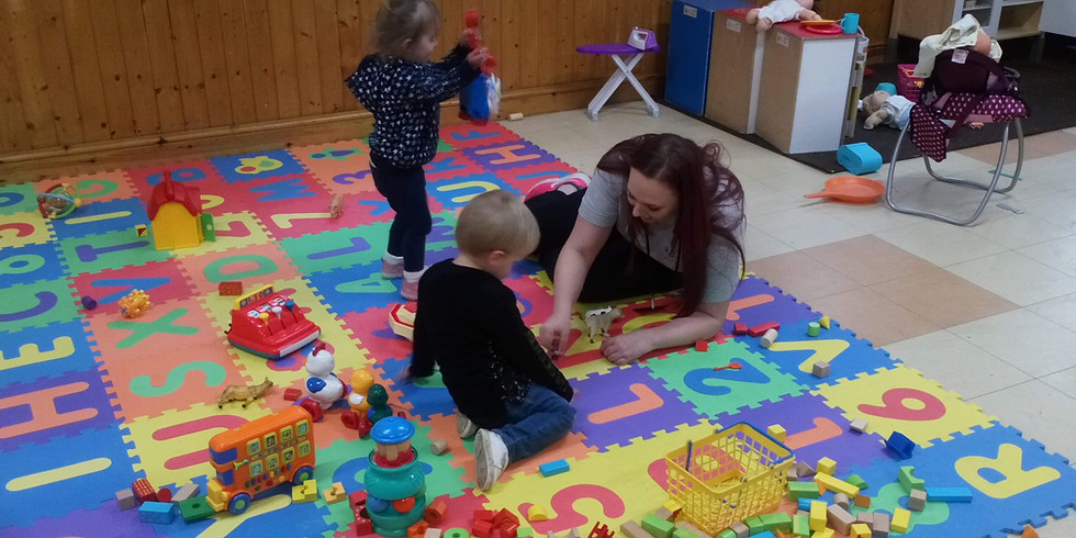 Week 5 - Toddlers  (Wednesday 25th August- Birth till 5 ) Fun for all the Family