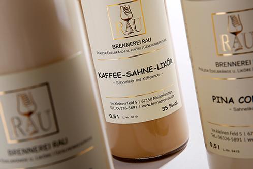 KAFFEE-SAHNE-LIKÖR / 0.5l (24.00€/l / 17%vol.)