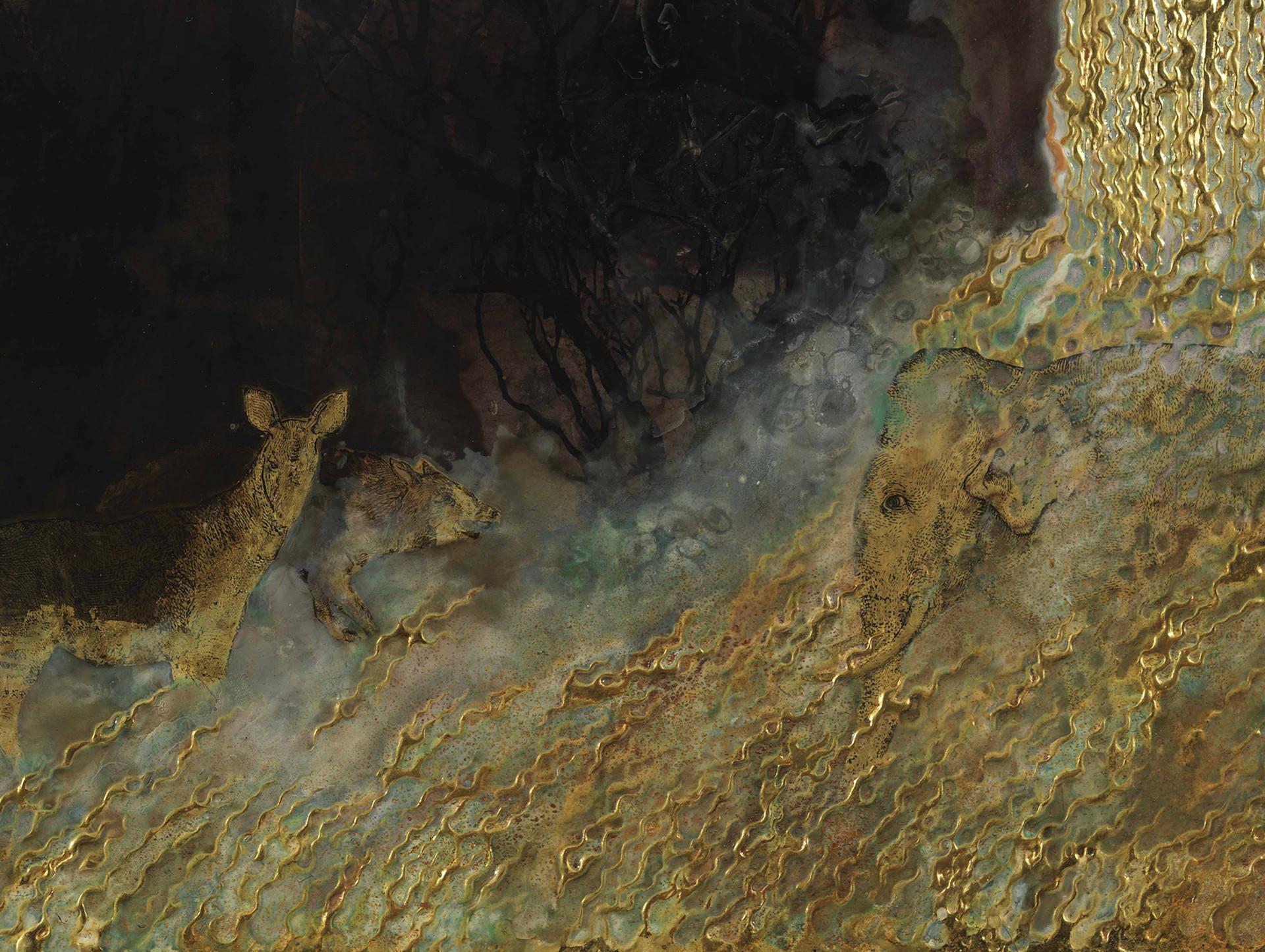 The Fountain (2010-12). Detail.