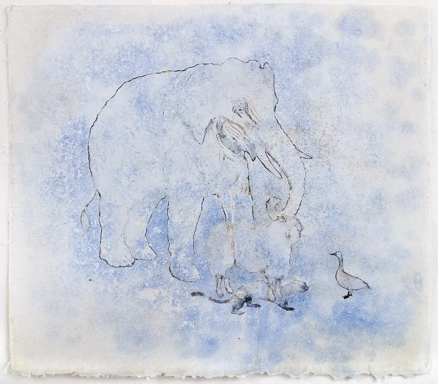 Study for the Peaceable Kingdom (2007)