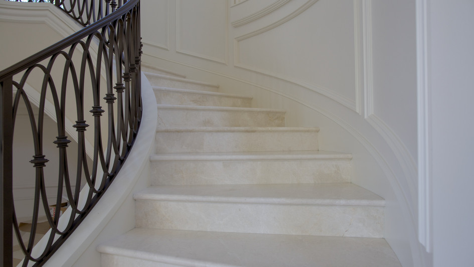 Traditional Marble Staircase