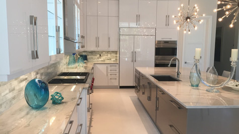 Quartzite kitchen