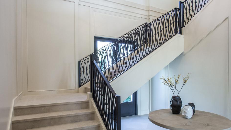 Limestone Staircase
