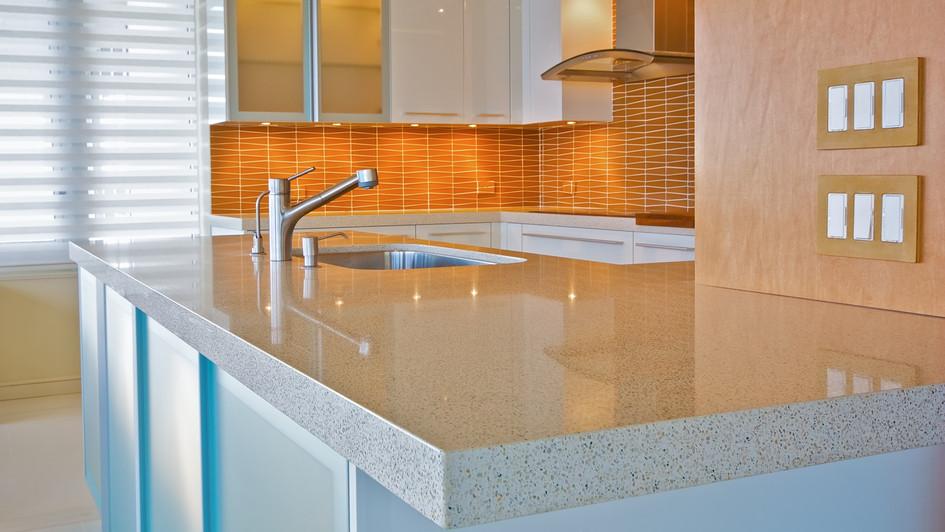 Contemporary Quartz kitchen