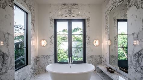 Marble Slab Bathroom