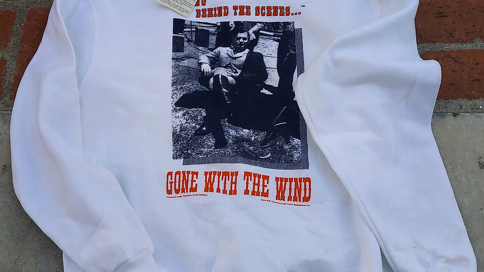 Gone With The Wind Sweatshirt (Rhett Butler) - NEW