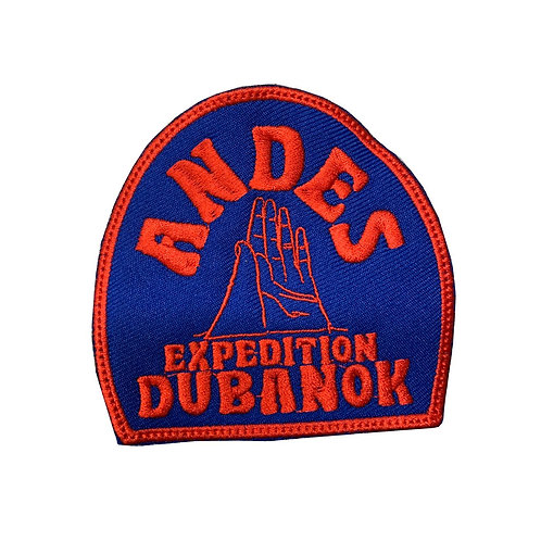 """Parche Rojo """"Andes Expedition"""""""