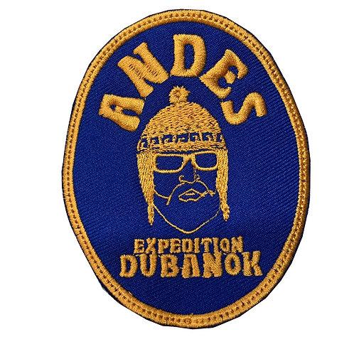 """Parche Dorado """"Andes Expedition"""""""