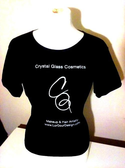 Crystal Glass Cosmetics Tee Shirts
