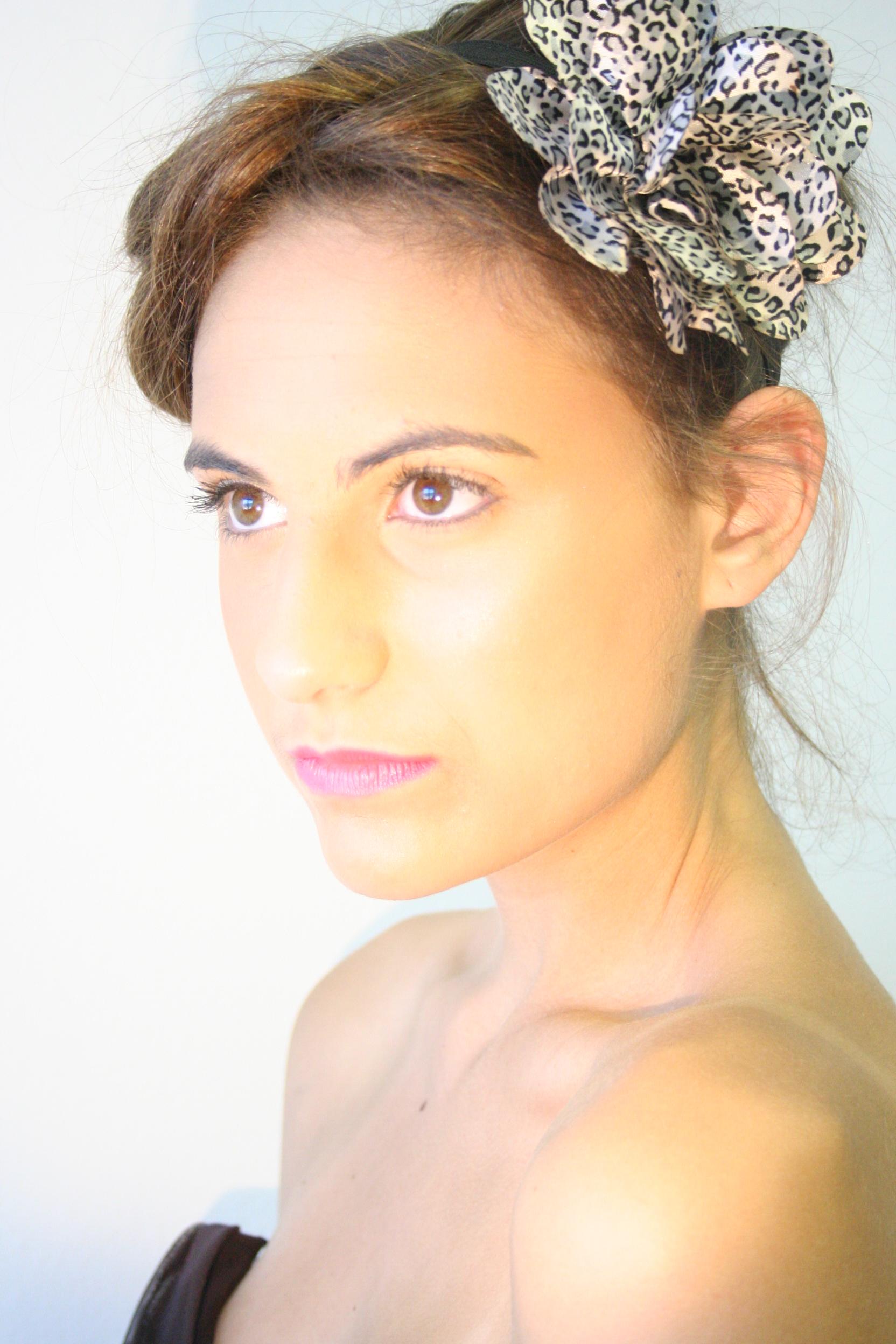 Hand Made Floral Headband