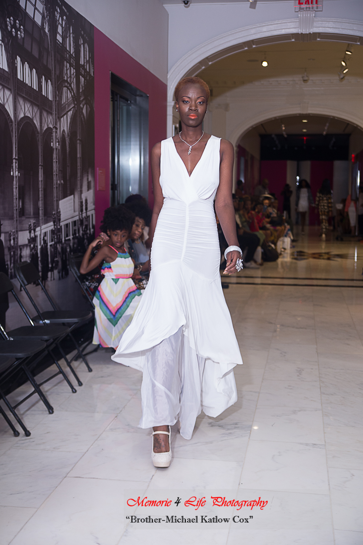 White Beach Gown