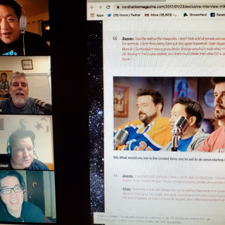 Comics on Cannabis Talks to Comic Book Men Stars Ming Chen & Mike Zapcic