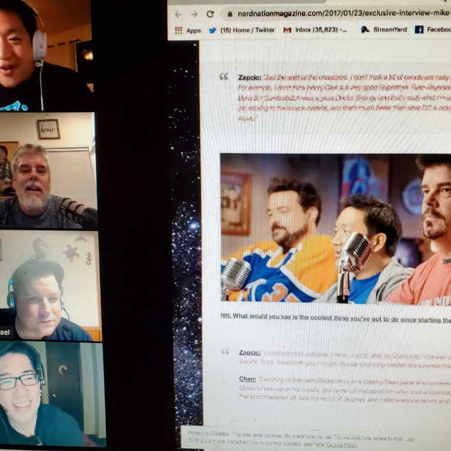 Comics on Cannabis Talks to Comic Book Men Stars Ming Chen & Mike Zapcic