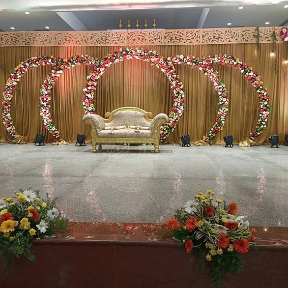 Wedding Reception Stage Decor