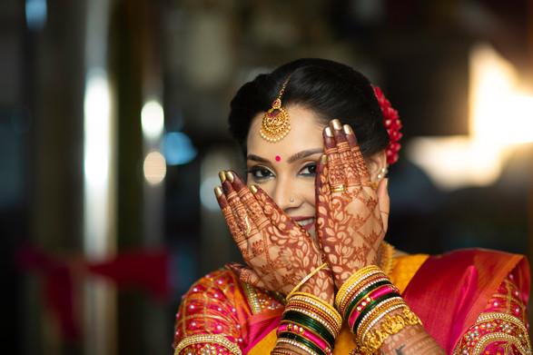 A coy Bride