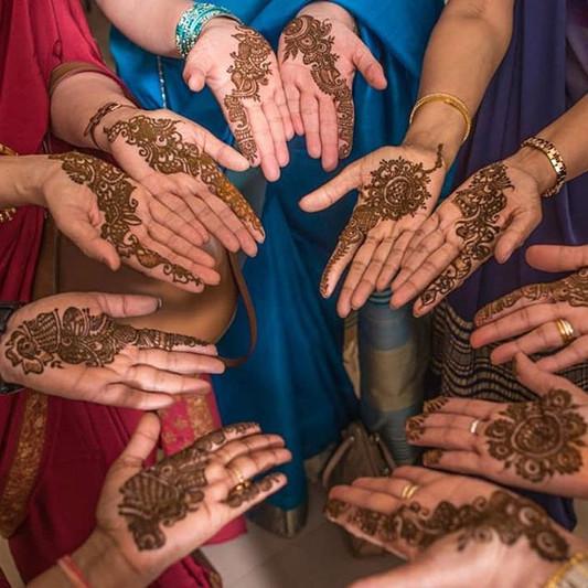 Wedding Mehndi Party