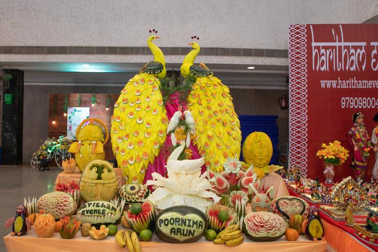 Vegetable carving for wedding
