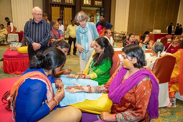 Mehndi at wedding