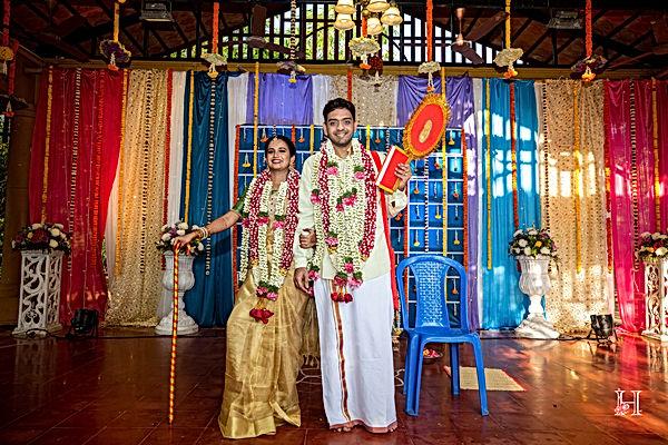 wedding couple shot