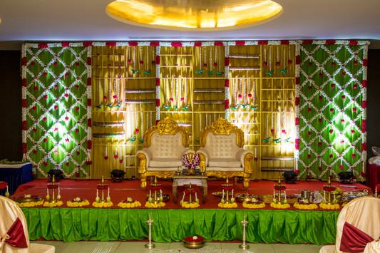 Valaikaapu Stage Decoration