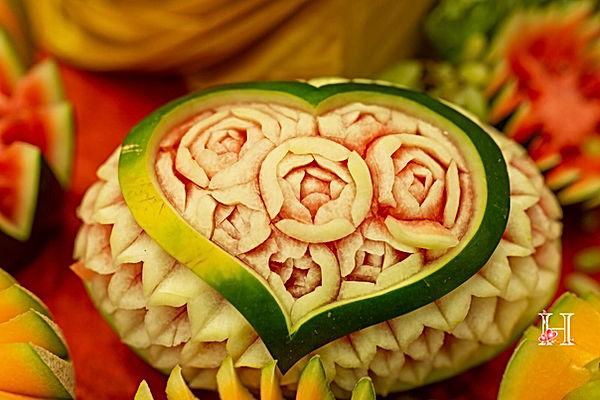 Vegetable art for wedding display.jpg