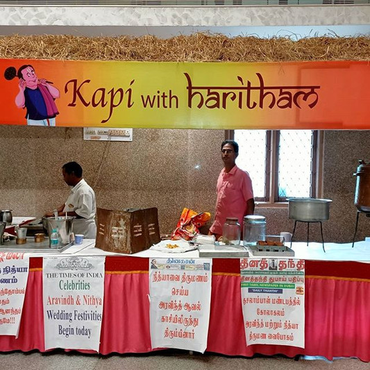 Wedding Catering  Coffee stall at a wedding