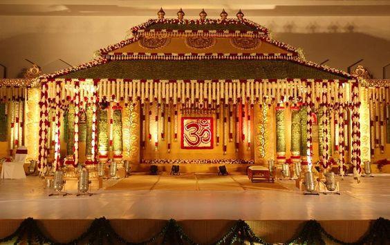 Wedding Muhurtham Stage