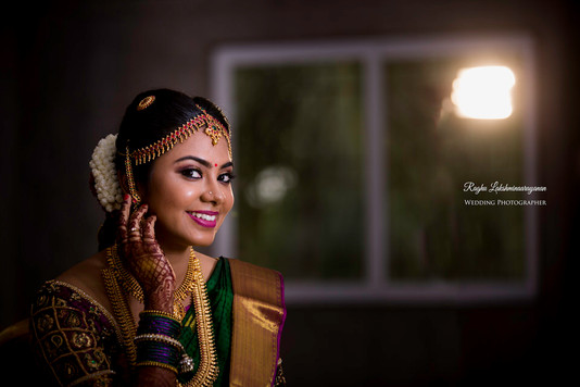 Oonjal Getting Ready Shot