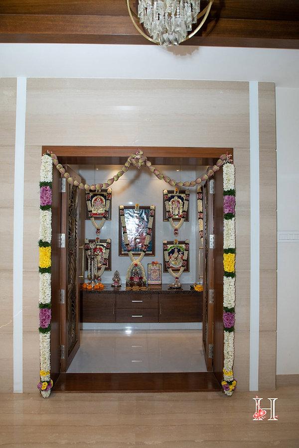 Pooja Room Flower decor.jpg