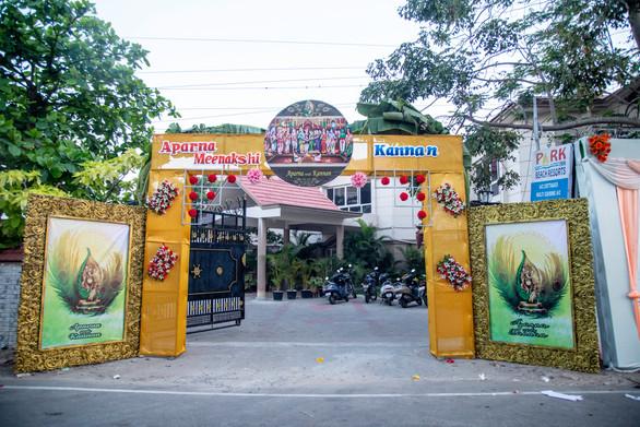 Entrance To the Wedding Mandapam